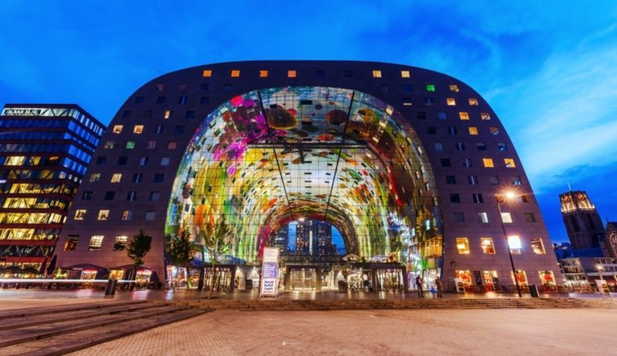 Market Hall fue inaugurado por Máxima de Holanda en 2014