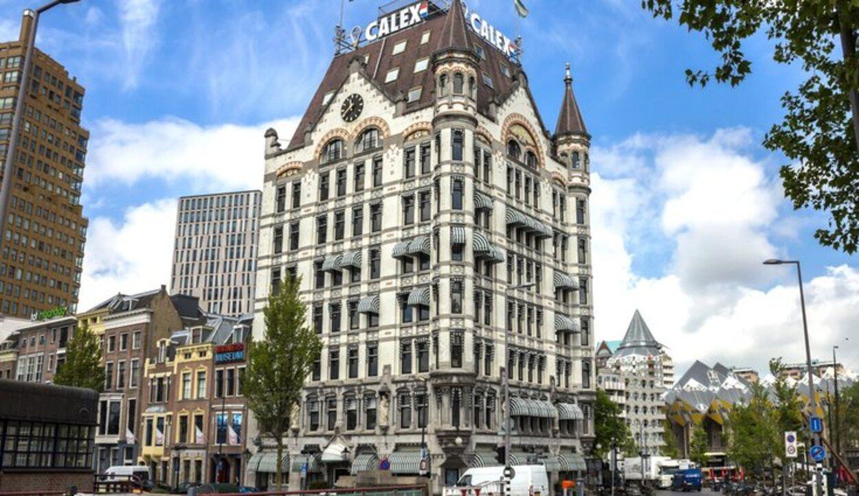 El Witte Huis es considerado el primer rascacielos que se levantó en Europa