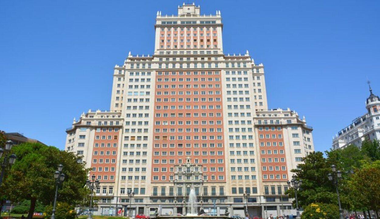 El Edificio España pertenece actualmente al grupo chino Wanda