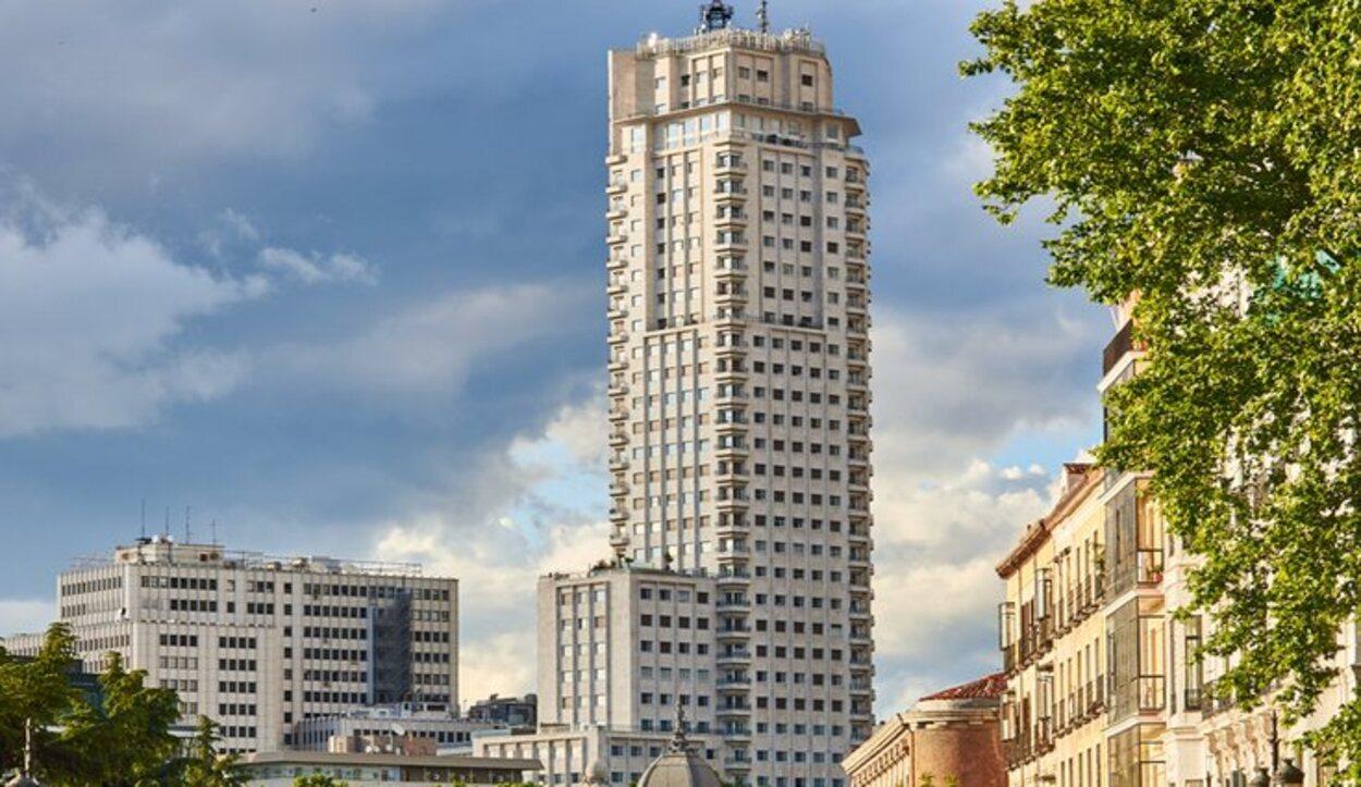 Desde la azotea de la Torre de Madrid ofrece las mejores vistas de la capital