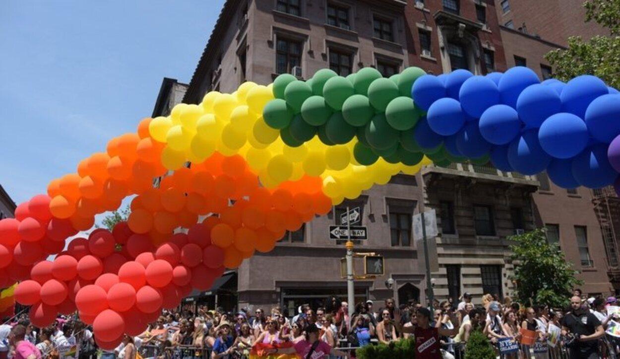 En Chelsea el arco iris sale a relucir cada día