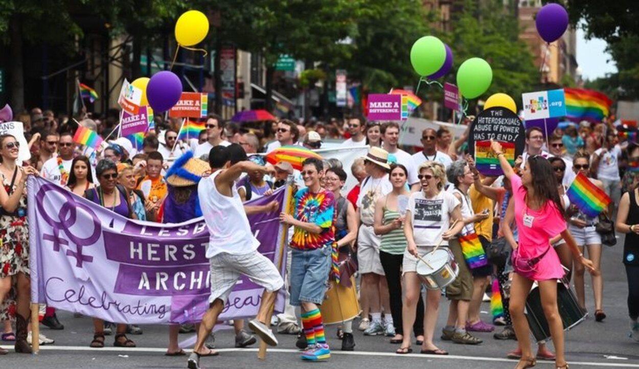 La comunidad LGTB de East Village esta formada especialmente por jóvenes universitarios