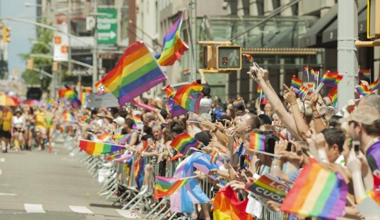 En Nueva York se celebra cada año un desfile con motivo del Orgullo LGTB
