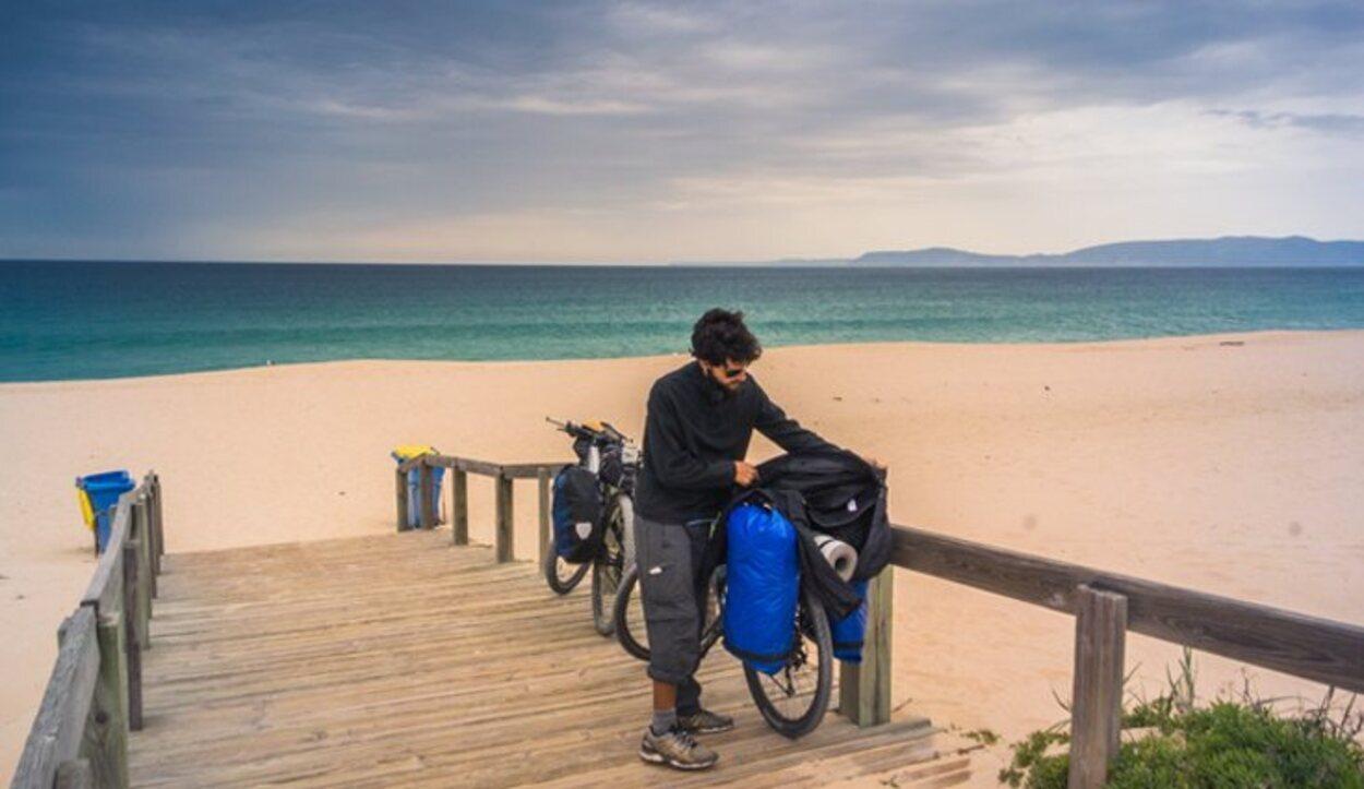 Hacer una excursión en bicicleta te ayudará a conocer mejor los alrededores de Troia