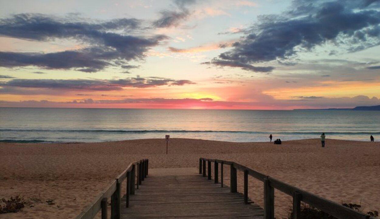 Comporta ofrece desde sus playas atardeceres maravillosos