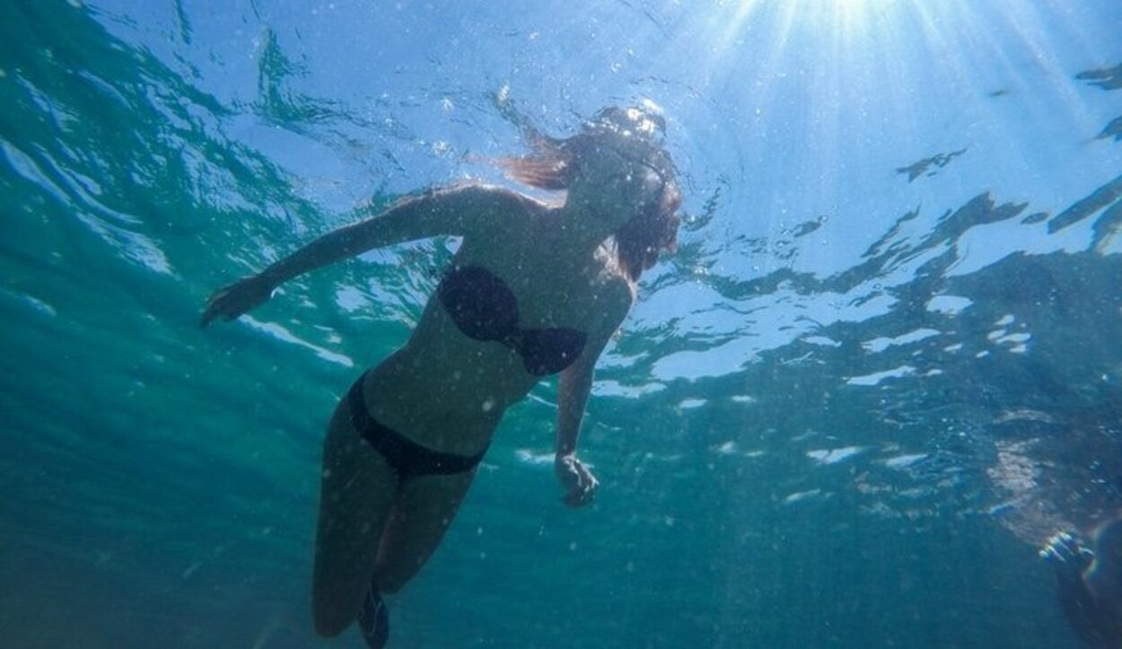 Es imprescindible llevar gafas de buceo para hacer snorkel, los fondos marinos son impresionantes