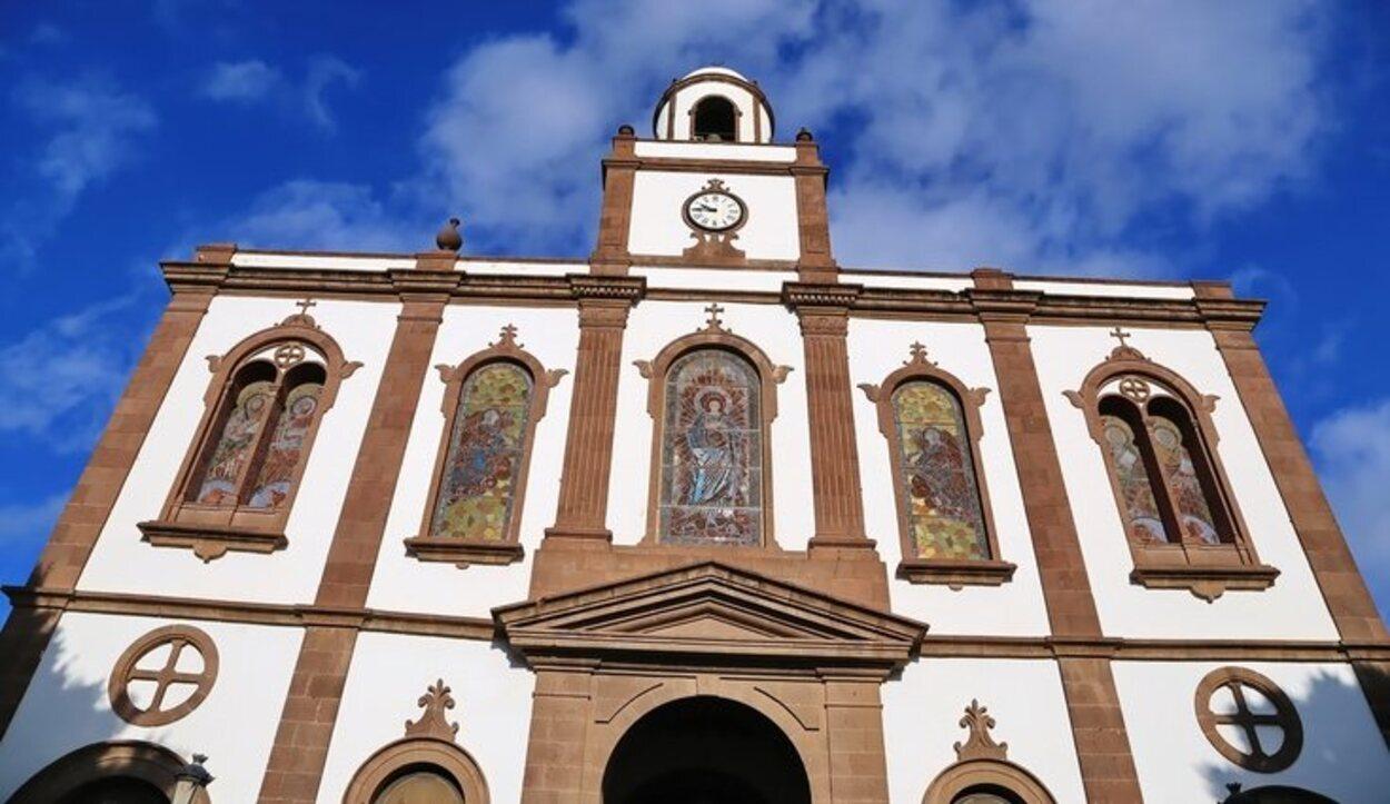 La Iglesia de la Concepción se encuentra en el centro histórico de Agaete