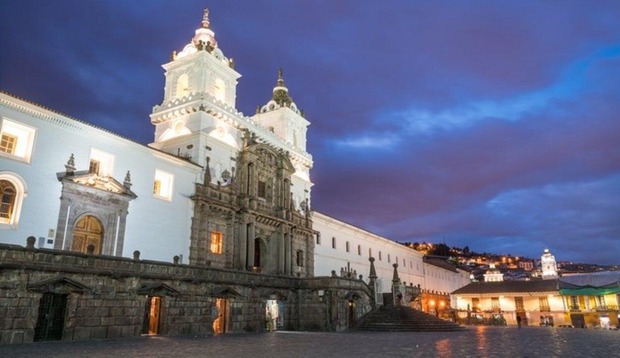 Esta es la segunda plaza más grande la ciudad de Quito