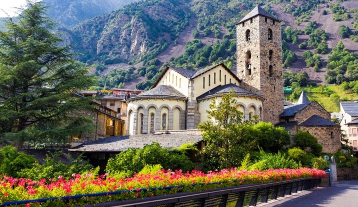 Iglesia de Sant Esteve ubicada en Andorra la Vella