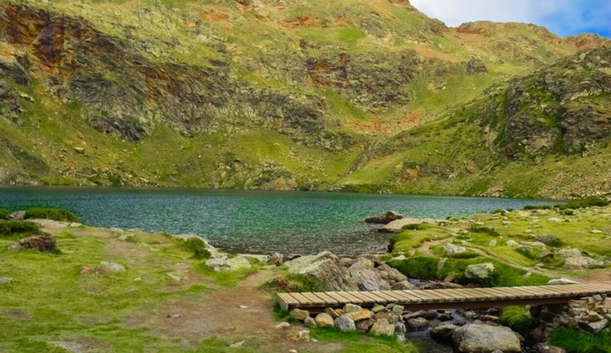 En Juclàa habita el tritón de los Pirineos