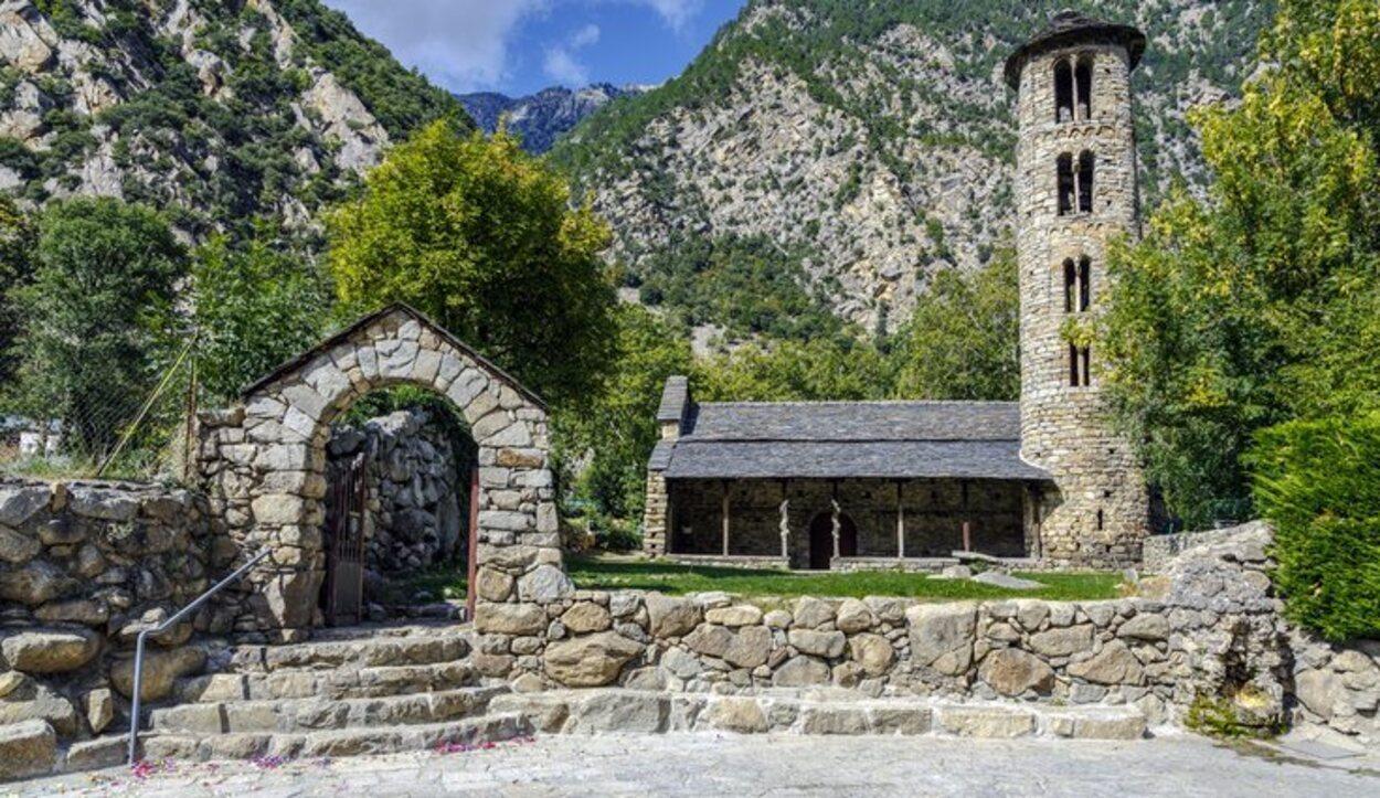 Santa Coloma es la iglesia más antigua e importante de Andorra