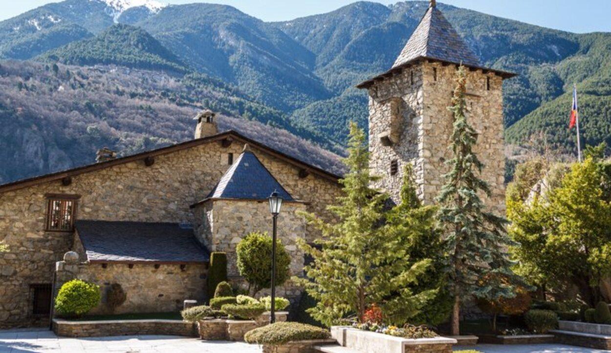 La Casa de la Vall es el parlamento de Andorra