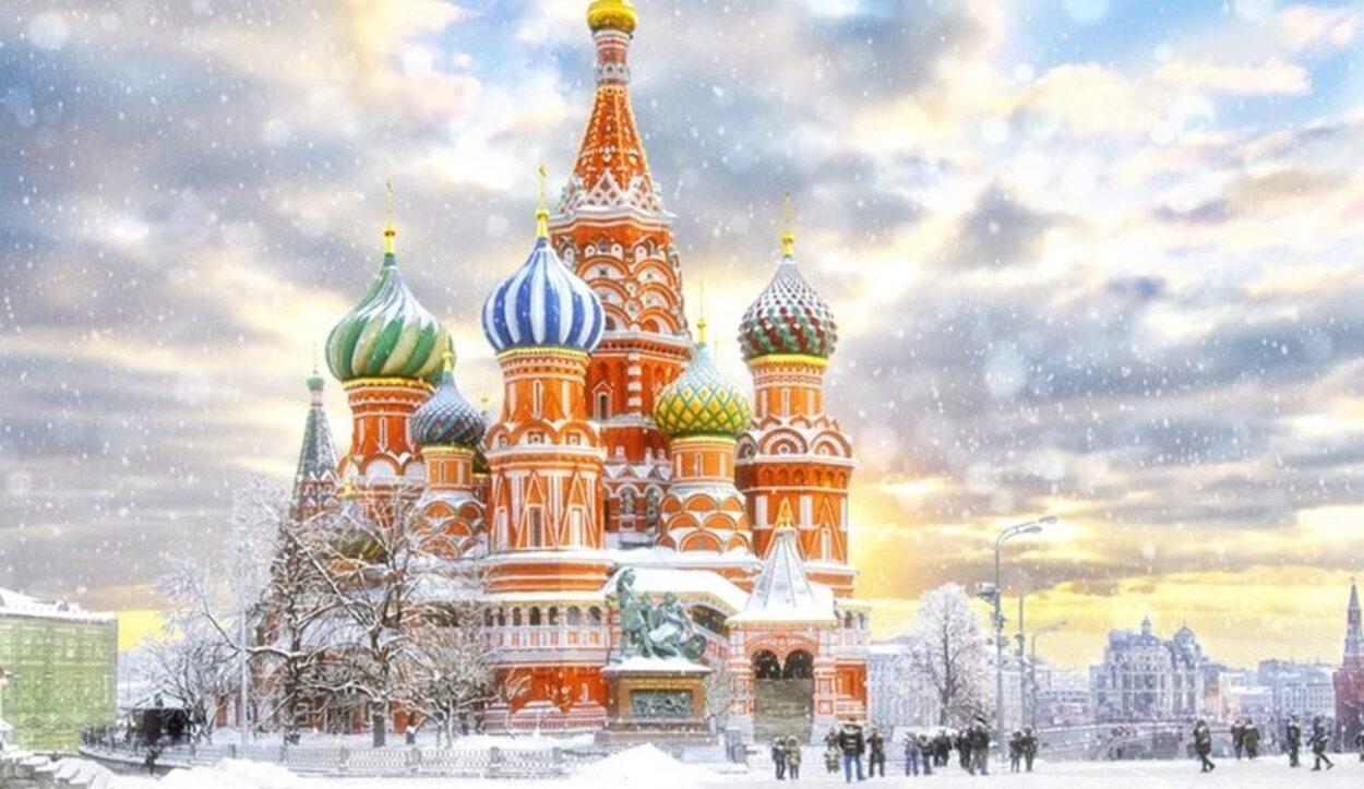 En los meses de invierno, Moscú tiene temperaturas muy bajas