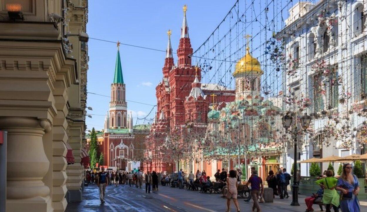 Los meses de verano son los más idóneos para visitar Moscú