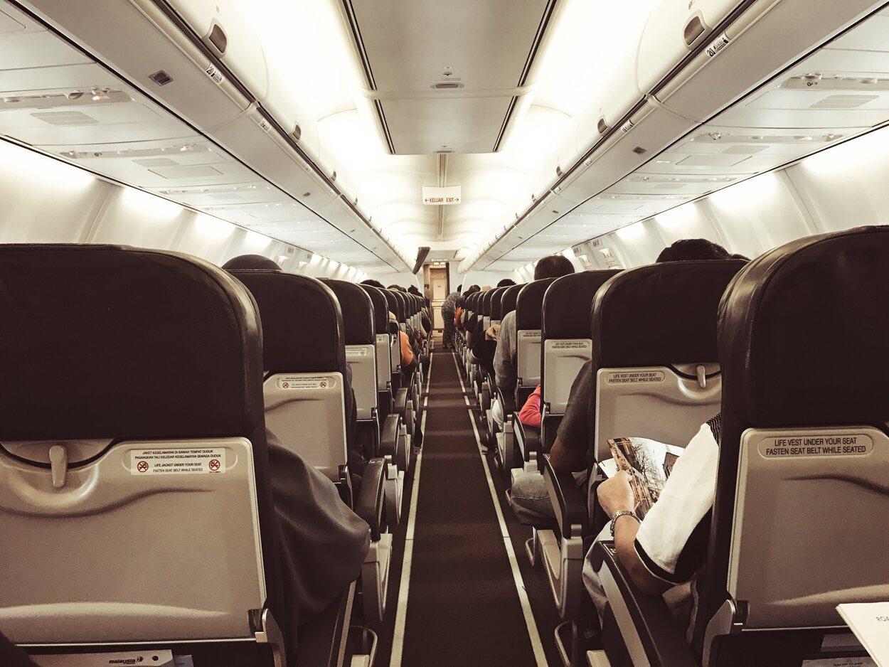 Los asientos Premium son mucho más cómodos que los de clase Economy