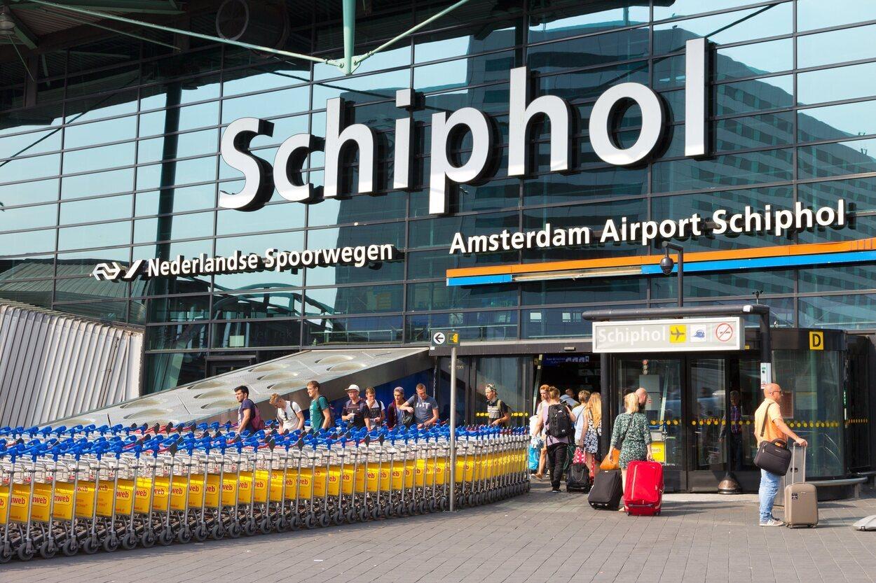 Este es el principal aeropuerto de los Países Bajos
