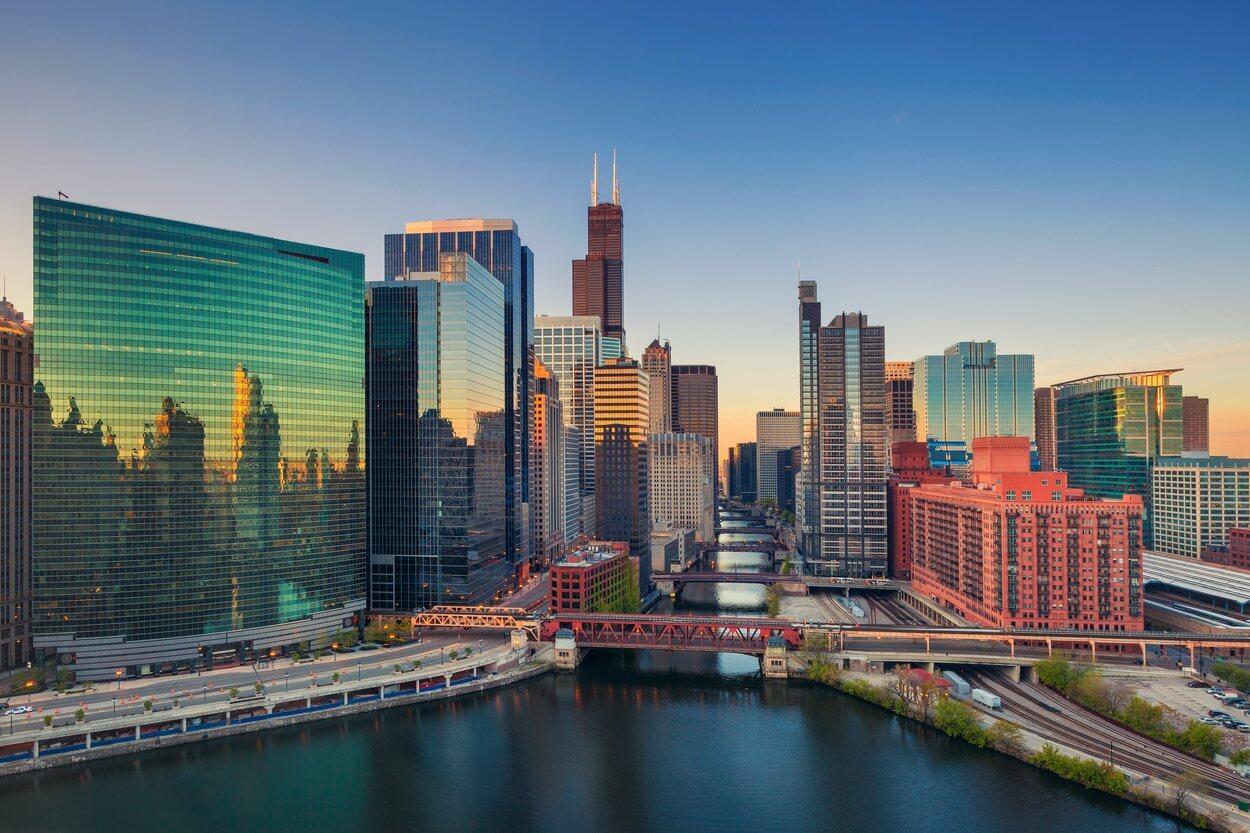 Vista completa de Chicago