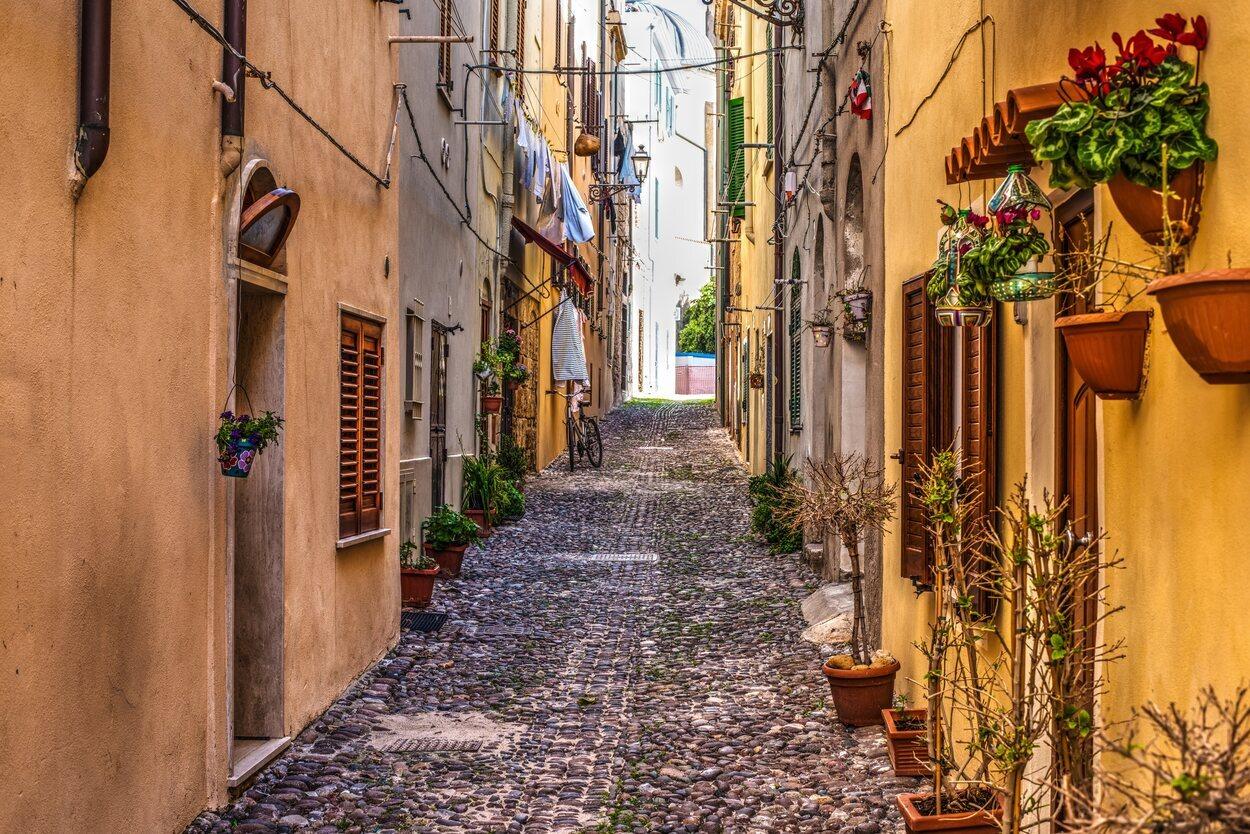 Calle de Alghero, Italia