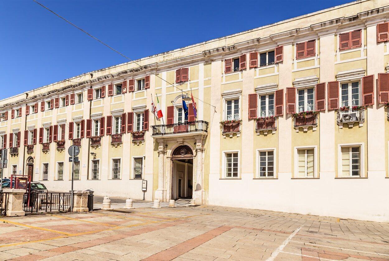 El palacio Viceregio