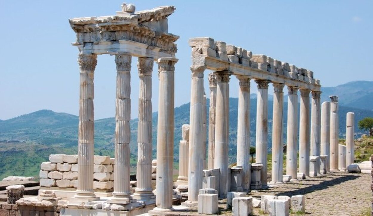 Pérgamo fue una de las ciudades más importantes junto a Alejandría