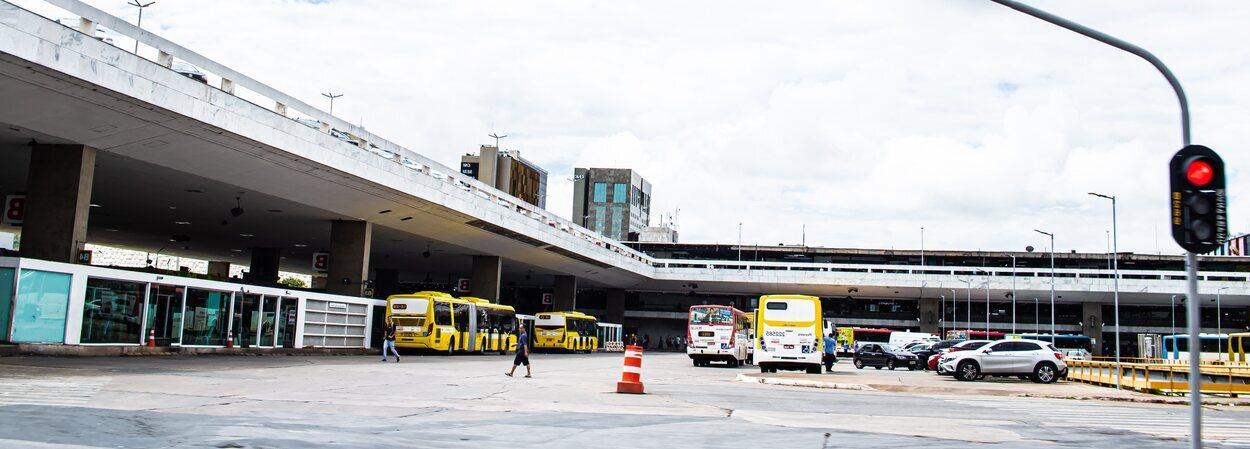 Uno de los métodos para moverse por Brasilia es a través del transporte público
