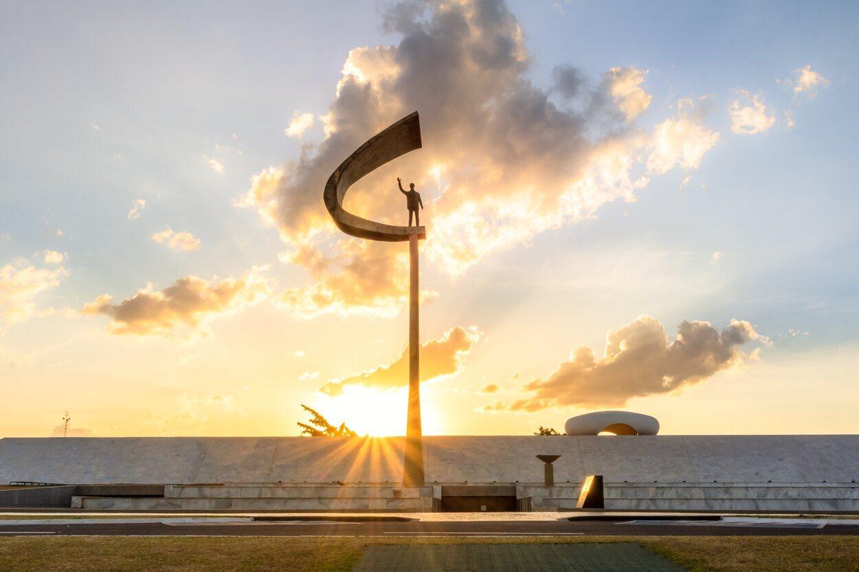 En 1981 fue cuando se inauguró el Memorial de Juscelino Kubitschek