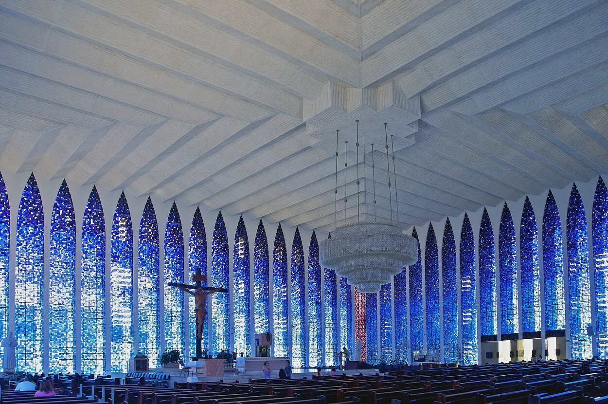 Es una de las Iglesias más conocidas de Brasilia