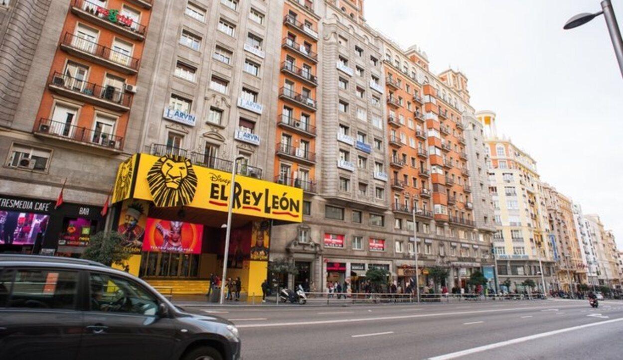 No te puedes ir de Madrid sin pasar por uno de sus numerosos teatros para disfrutar de una puesta en escena