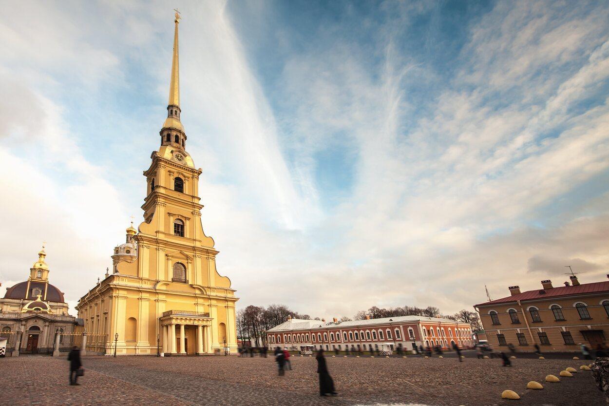 Iglesia donde se encuentran las tumbas de los zares
