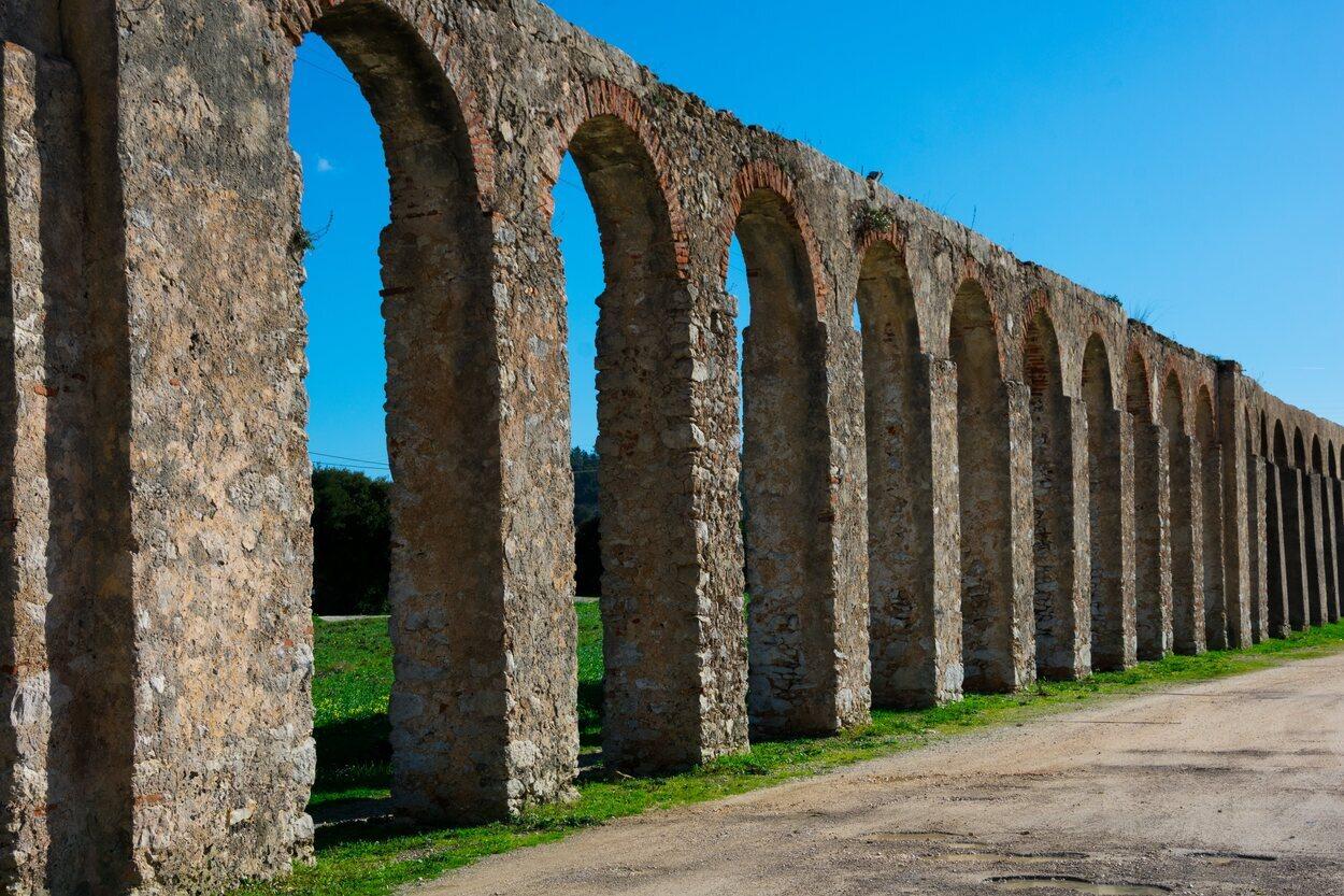El acueducto de Óbidos es del siglo XVI