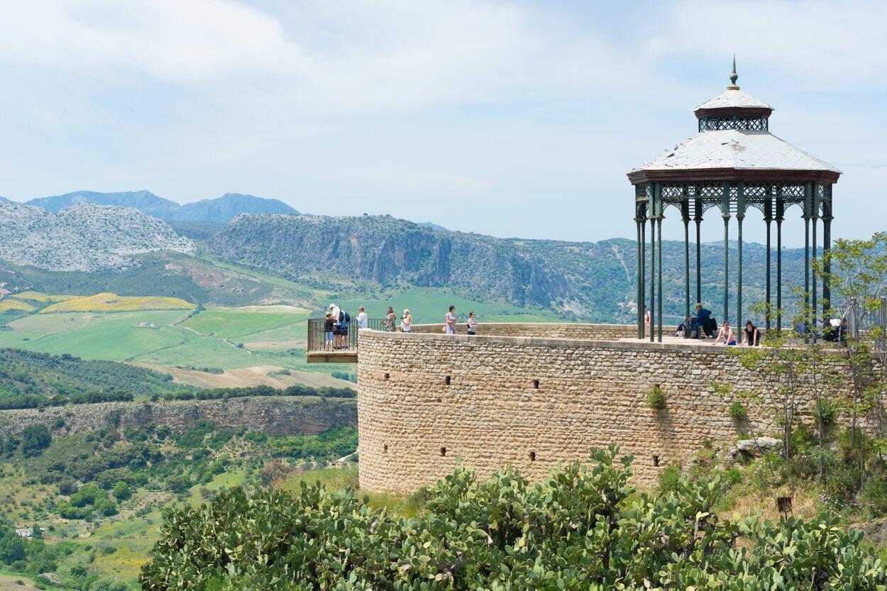 El balcón del coño es uno de los miradores donde se pueden apreciar las vistas de la ciudad