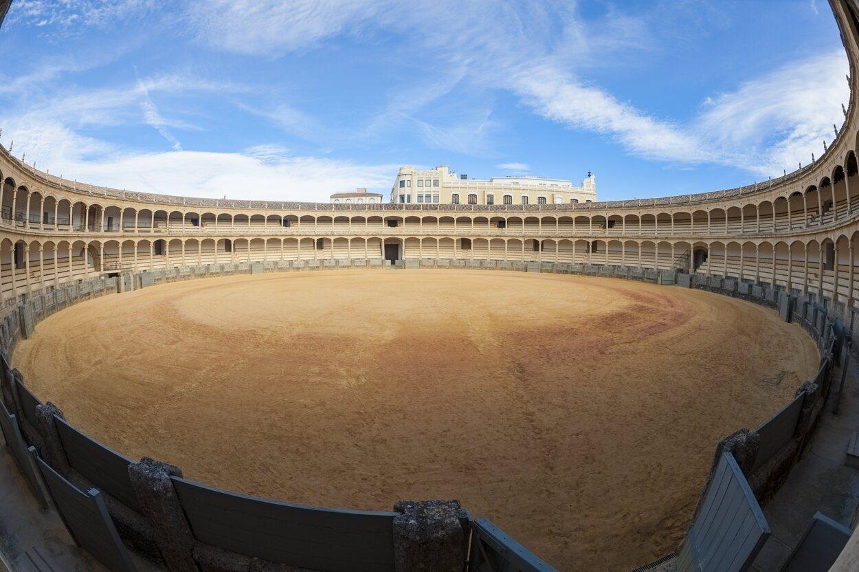 La plaza de toros la fundó Felipe II en 1572
