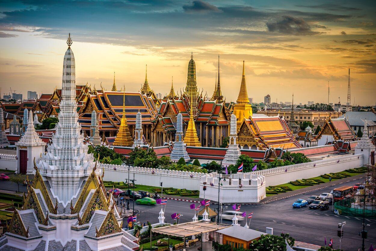 El Palacio Real es uno de los monumentos imprescindibles que tienes que visitar en Bangkok