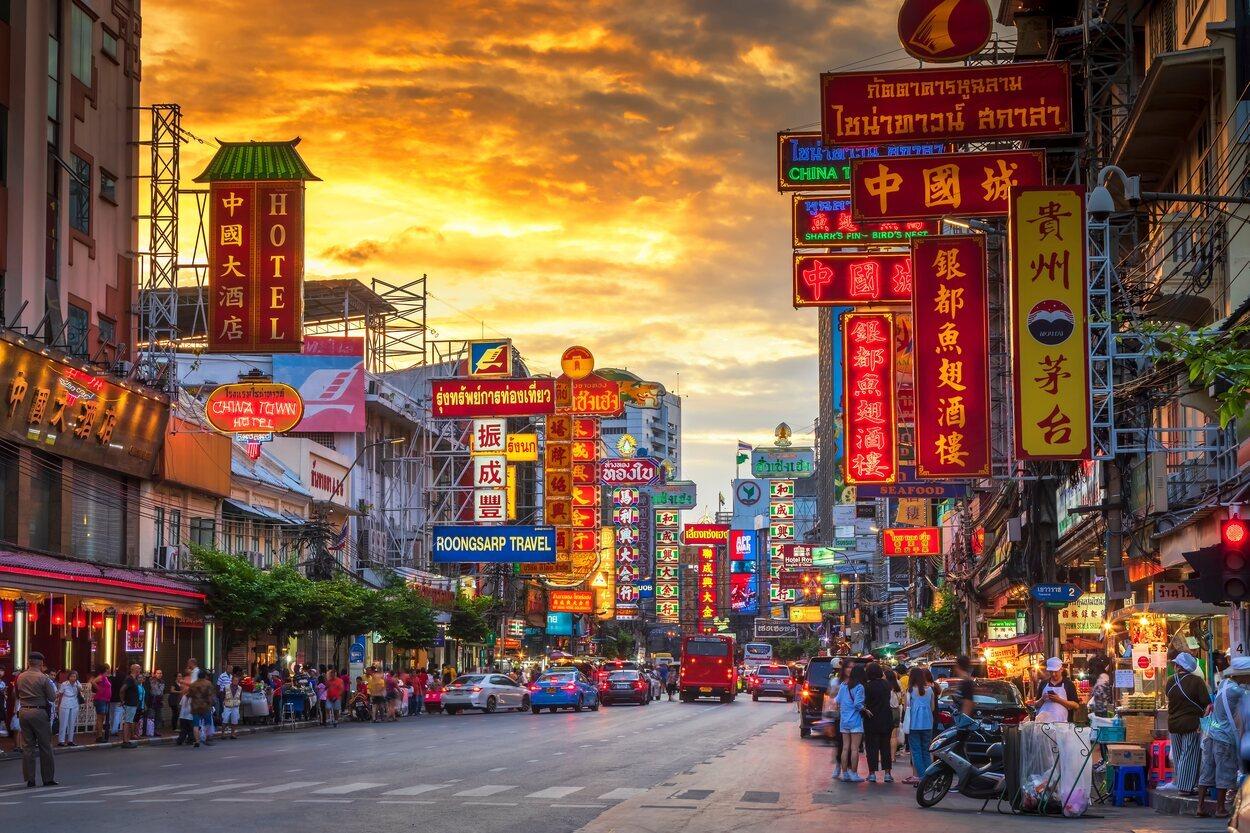 Chinatown es uno de los lugares perfectos para pasear