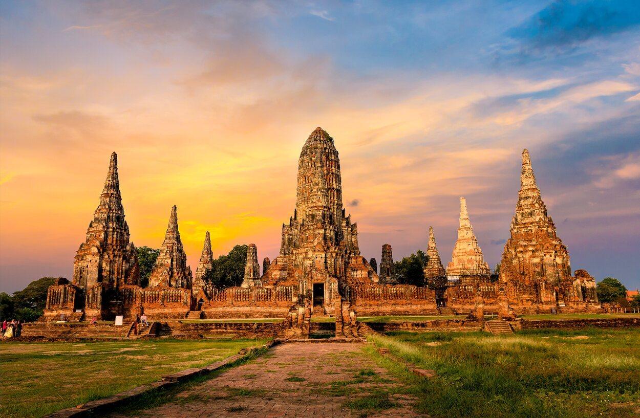 Capital del Reino de Siam