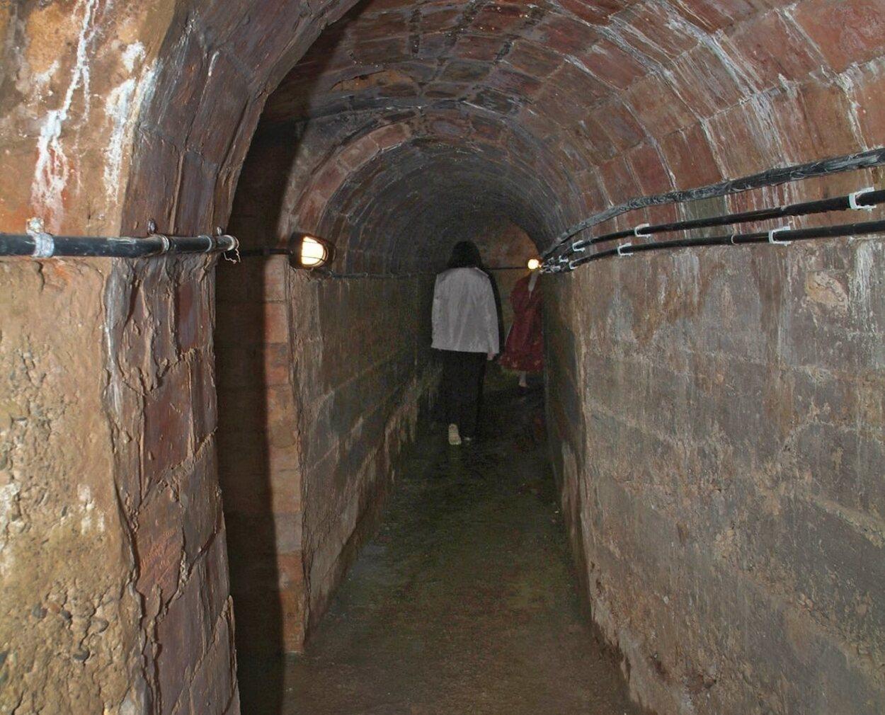 Antiguamente contaba con tres puertas de acceso, siendo la principal la que te dirigía a la Plaza de la Pau