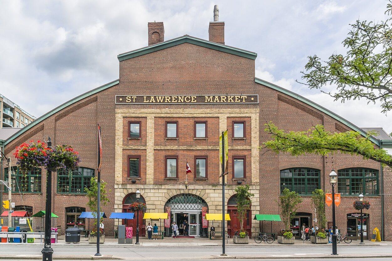 En este mercado se podrá comprar comida tradicional de Toronto