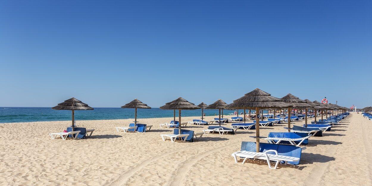 La isla de Tavira es formada por cuatro playas