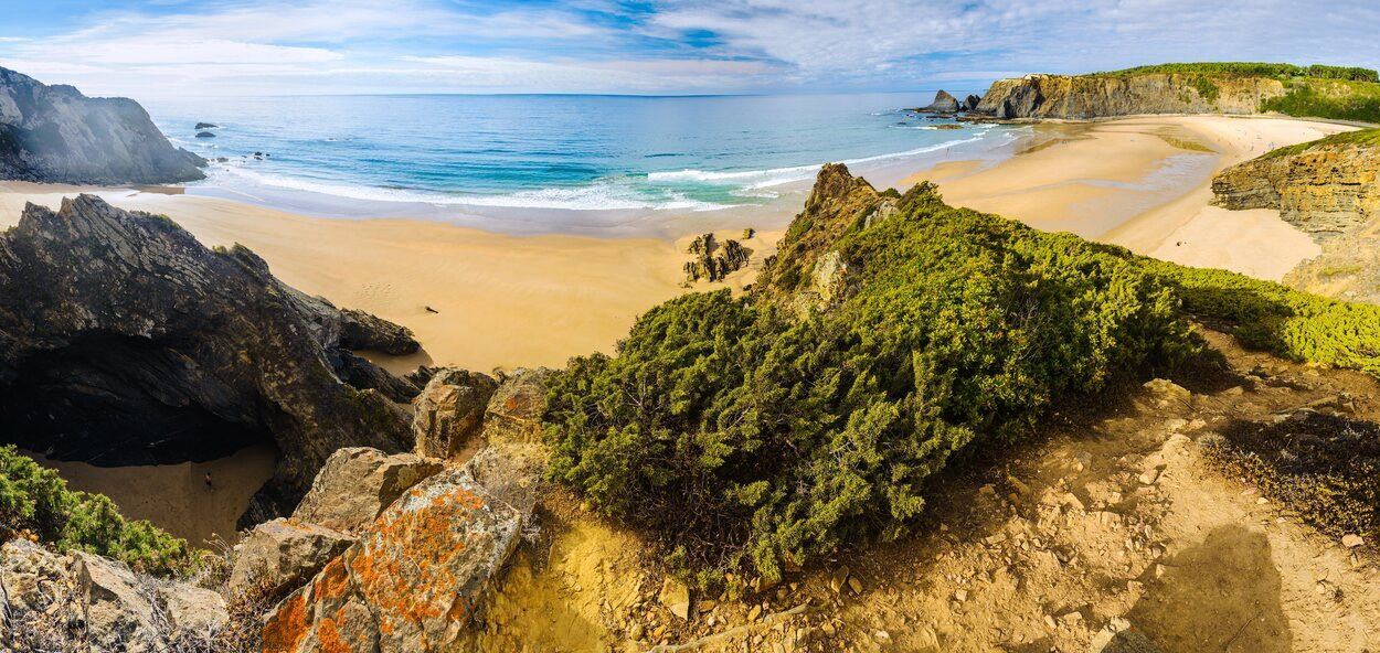 Playa de Odeceixe es una playa ideal de bandera azul