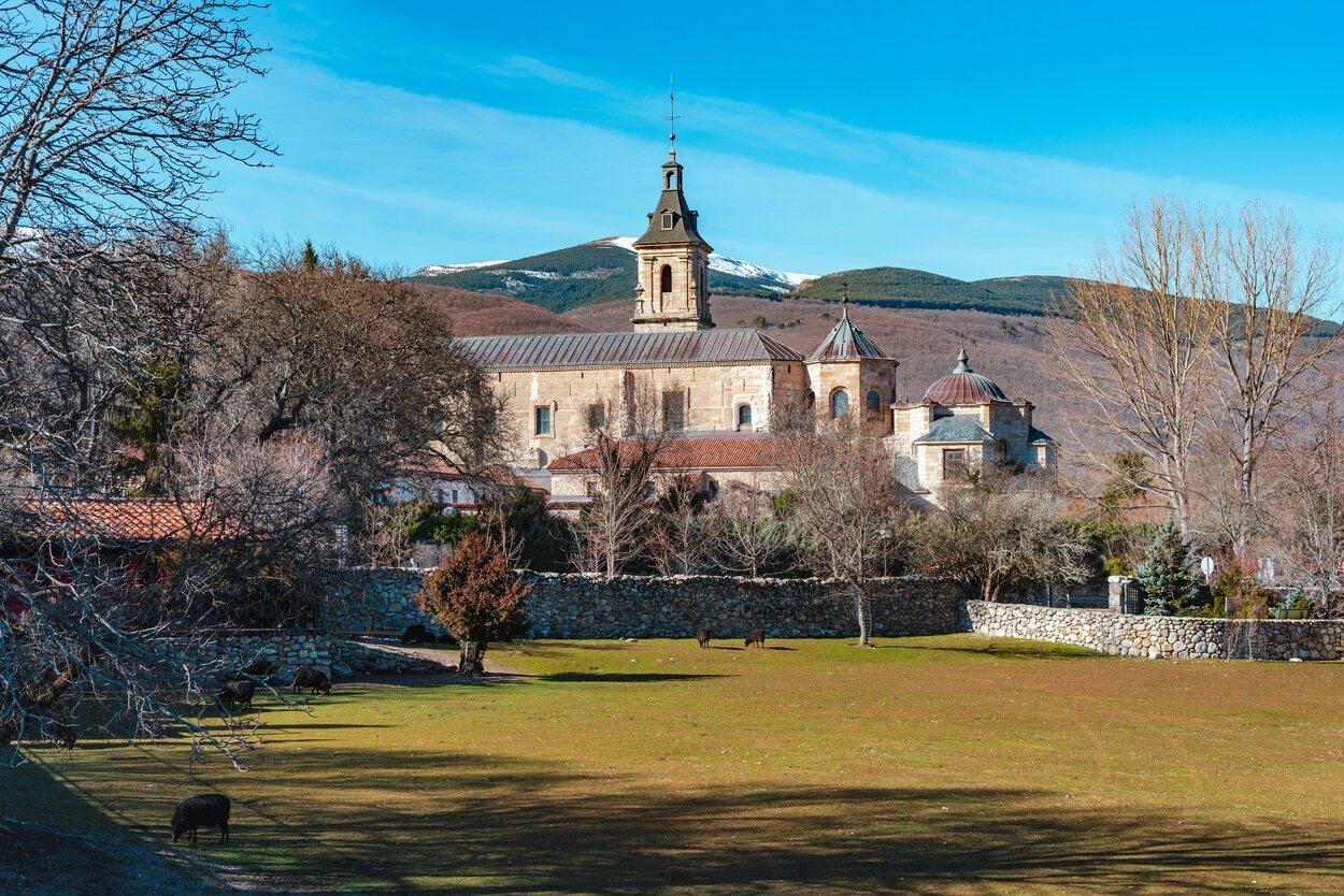 Monasterio de Santa María del Paular en Rascafría