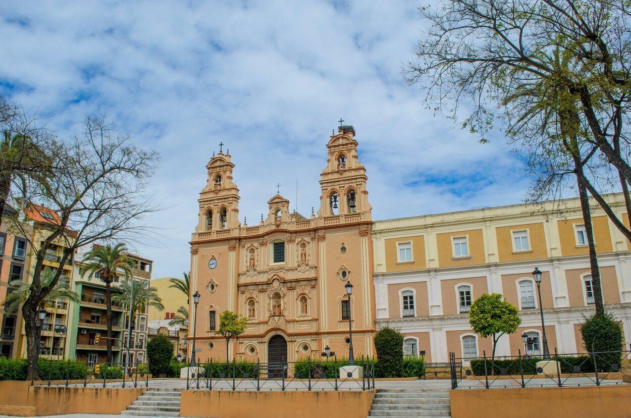 La catedral de Huelva es conocida como la catedral de la Merced