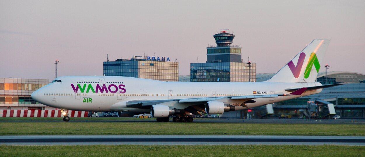 Wamos Air es una compañía aérea perteneciente al grupo Marsans