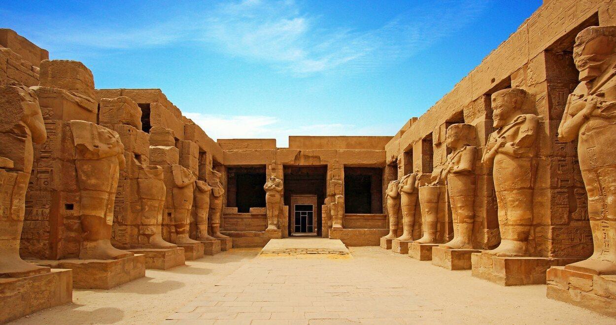 Los faraones junto a las pirámides son lo más representativo de Egipto