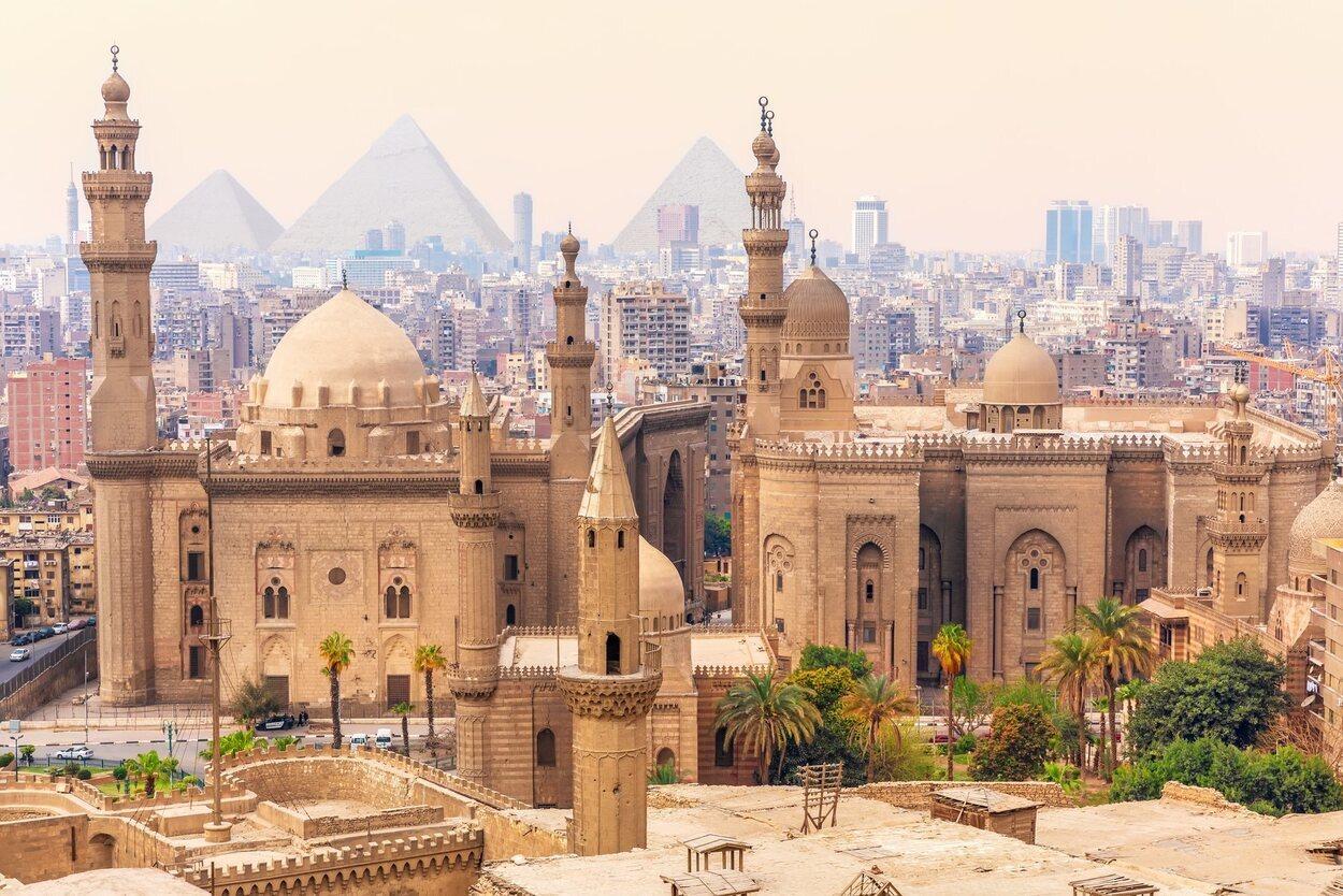 El Cairo está formada por distintas sociedades religiosas