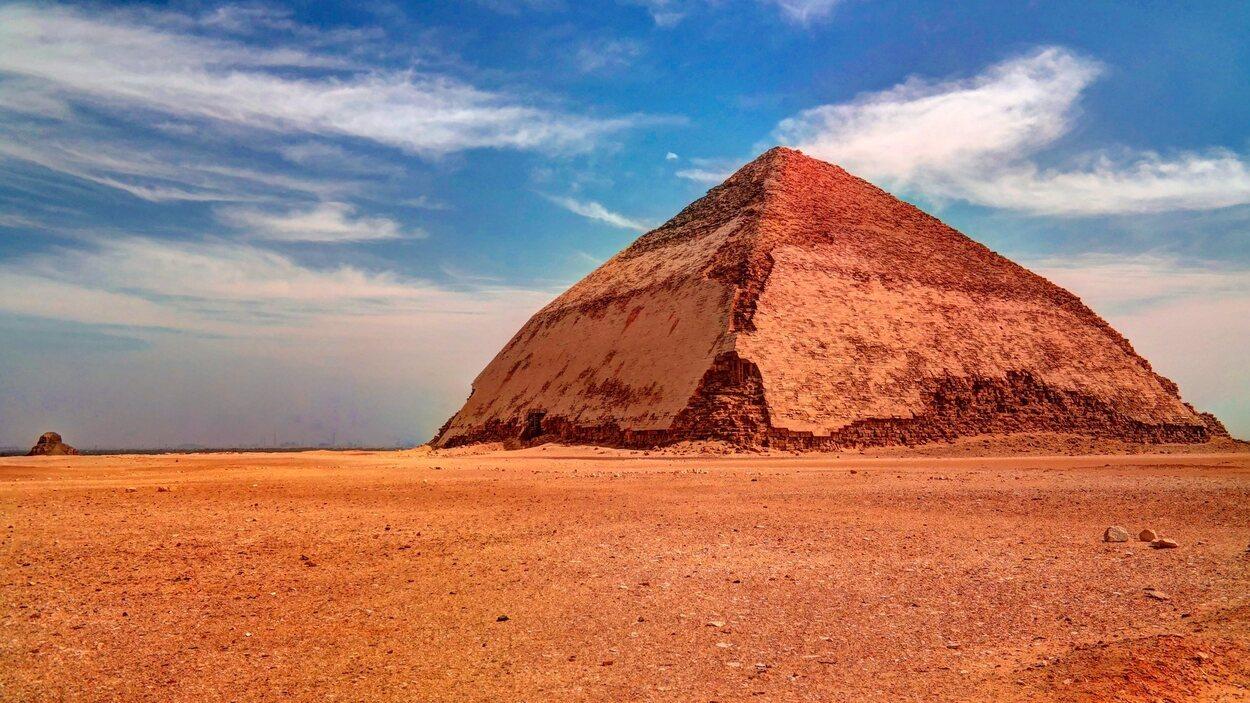 Pirámide rojiza de Dahshur