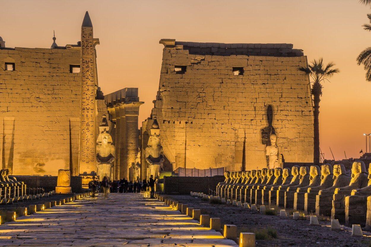 El Templo de Lúxor es uno de los lugares de culto más importantes