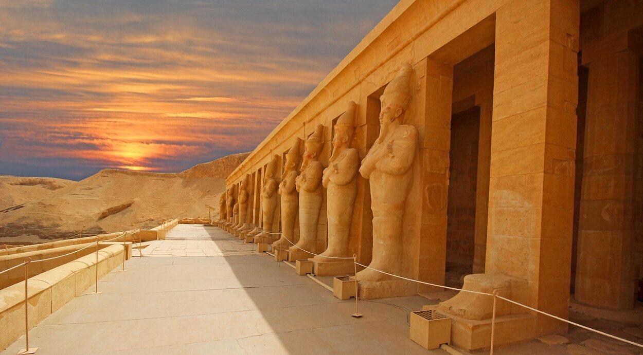 El Valle de los Reyes contiene más de 60 tumbas