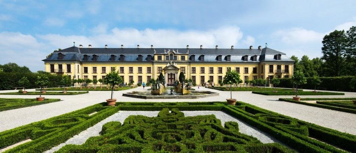 Jardines Reales de Herrenhausen, siendo el más impresionante el Gran Jardín