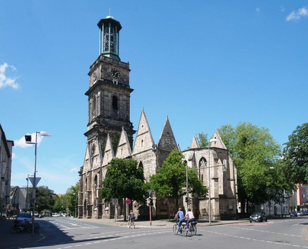 Iglesia de San Gil, remodelada con el paso de los siglos