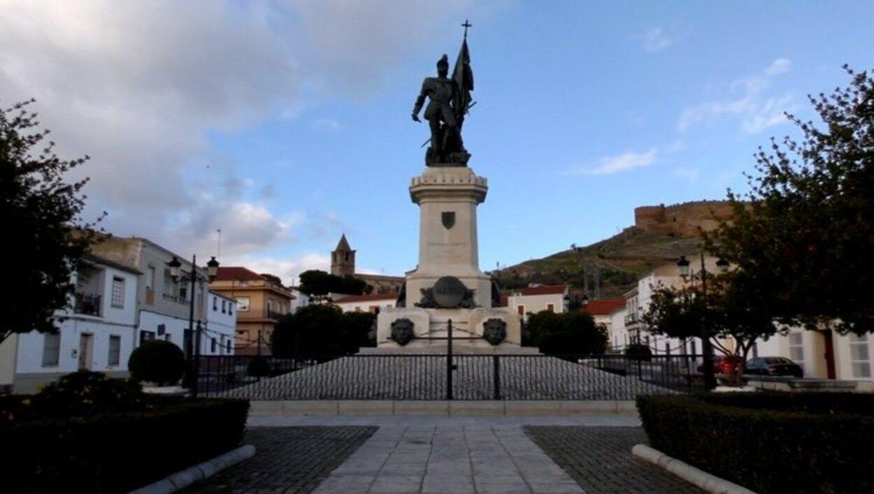 Hernán Cortés nació en Medellín, donde tiene una estatua en su honor | Foto: Turismo Medellín